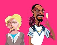 Martha & Snoop Potluck Party