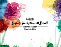 Dillard's Spring Scentsational Event