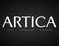 Artica Pro Typeface