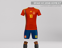 Spain World Cup 2018 Kits