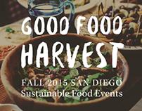 Good Food Harvest Flyer