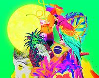Saudade Festival flyers