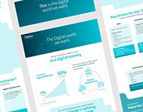 "Telefónica / Infographic ""Digital Manifesto 2018"""