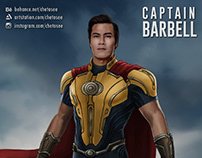 Captain Barbell redesign (Personal Work)