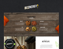 Beenergy website design