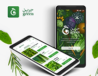 Green - Produce ordering and delivery app