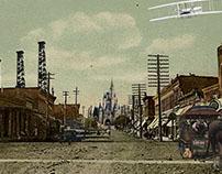 Walt Disney Photo Montages- University Work- 2013/2014