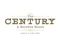 Century Bourbon House Branding