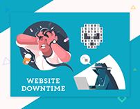 CyStack Infographic: Website Downtime