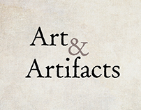 Art & Artifacts logo and mobile app