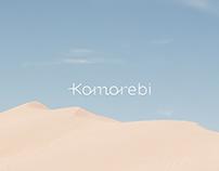 Komorebi beauty salon Branding