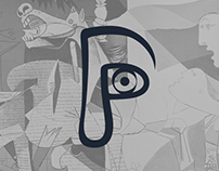 Pablo Picasso // Monogram // Corporate Identity