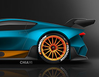 Luxury Sports Coupe Concept - GT2 version