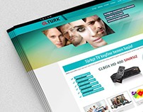 Glbox.tv Web Design