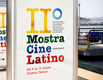 II° Mostra Cine Latino / Event Branding