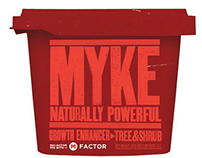 Myke-Growth enhancer / Sid Lee