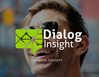 Dialog Insight / Website concept