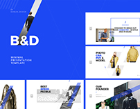 dublin design on behance, Presentation templates