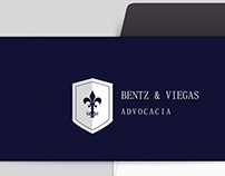 Identidade Visual Bentz & Viegas Advocacia