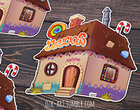 La casa de Chocolate (Stiker) + Speedpaint video