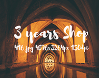 3 years of ApertureVintage Shop on CreativeMarket