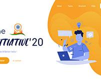 UI : Initiative Website