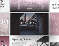 LONDON - FREE MINIMAL POWERPOINT & KEYNOTE TEMPLATE