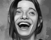 Facial Expressions - Digital Painting Study #001