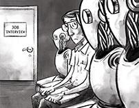 Future of work-Editorial illustration