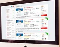 Investment program monitoring website