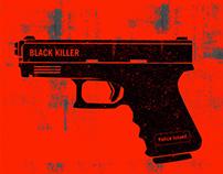 Black Killer Illustration