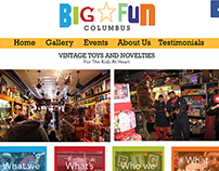 Big Fun Columbus Website Redesign