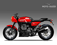 MOTO GUZZI V85 LE MANS CONCEPT