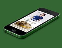 Lacoste Website Redesign UI/UX