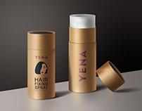 YENA: hair fixing spray