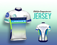 Logo, Jersey, Medal, T-shirt Design Ride for Compassion