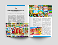 Magazine Layout :: Adobe Indesign