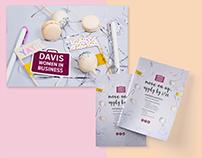 Davis Women in Business branding