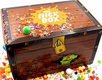 Nick Box Fall Treasure & Treats marketing campaign