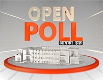 Open Poll Project for hnn24x7 News channel