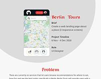 Berlin Tours (UI Design)