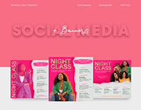 Social Media + Banners | WomenCeoProject