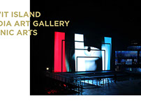 2010 FLOATING ISLAND / MEDIA ART GALLERY  MEDIA FACADE