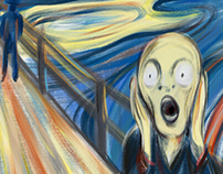 My Scream! Munch Contest, The 5th