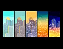 The big city rhythm