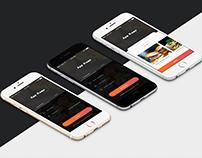 App Concept Design For Order Food