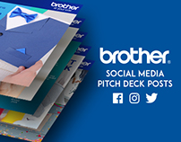 Brother Philippines Social Media Pitch Deck Posts