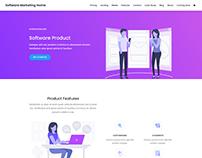Software Marketing Agency Website