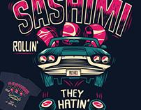 Sashimi rollin'