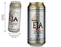 Birra Eja concept packaging for Albanian Beer & Bottle